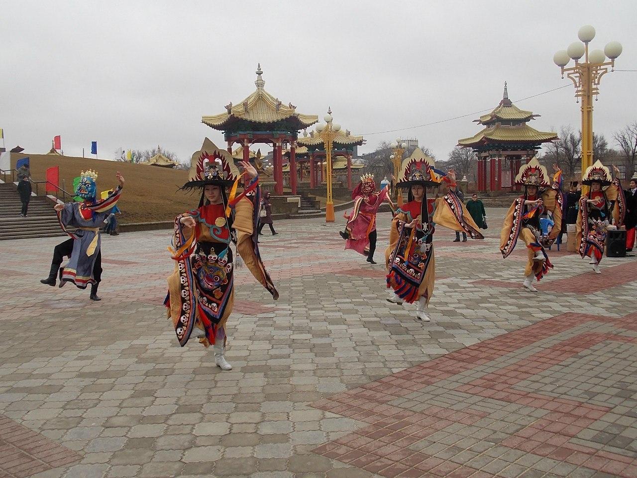 Фото: Калмыкия отмечает национальный праздник Цаган Сар | Калмыкия ...