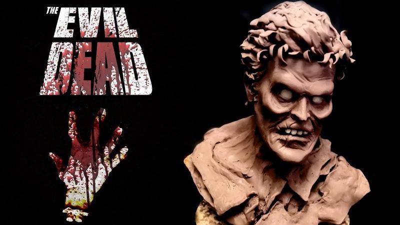 Эш Уильямс /Ash Williams. Скульптура персонажа из пластилина. Зловещие мертвецы