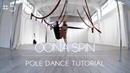 How To Pole Dance 5 OONA SPIN Tutorial Beginner