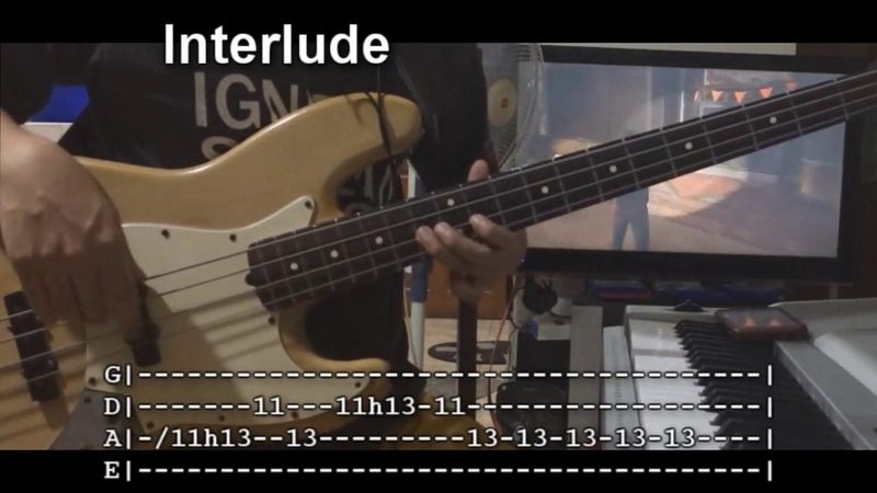 Alive Again by Planetshakers (Bass Lesson w/TABS)