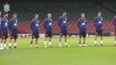 La Selección española guarda un minuto de silencio en recuerdo de las víctimas de Mallorca