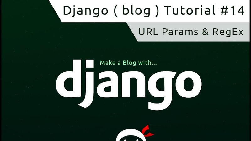 14). Django Tutorial 14 - URL Parameters