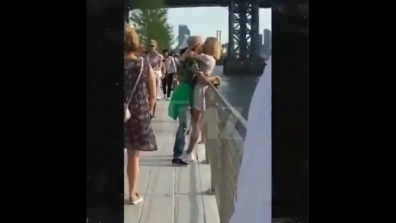 Justin Bieber and Hailey Baldwin NYC kissing