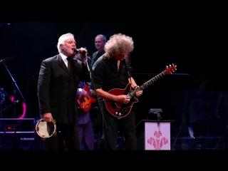 Brian may  roger taylor - live at princes trust rock gala (royal albert hall, london - 171110)