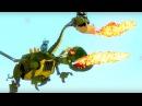 Мультфильм для детей про роботов- Храброе сердце - Звездная болезнь - о дракон