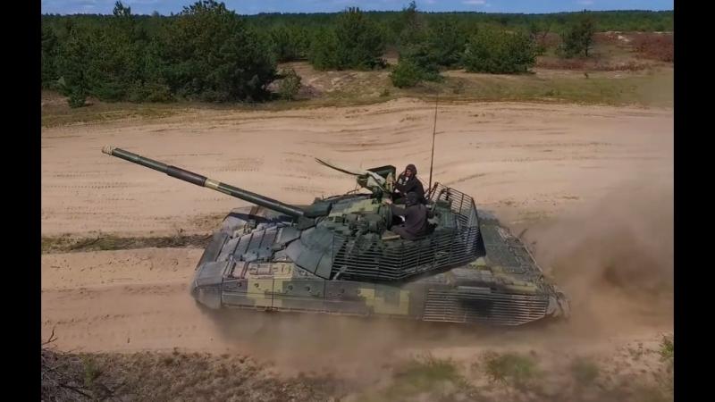 Т 72АМТ от Киевского бронетанкового завода