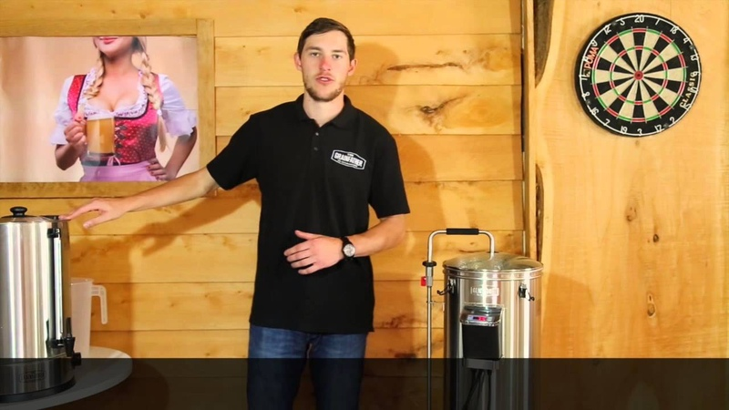 Grainfather Brewing Video