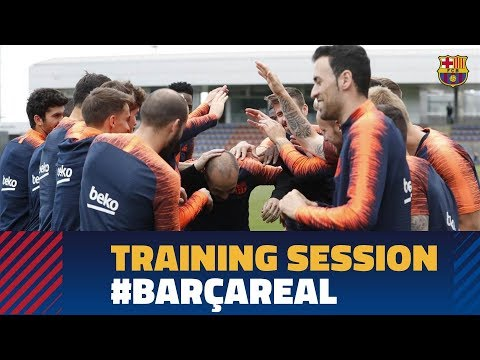 Last training session of the season