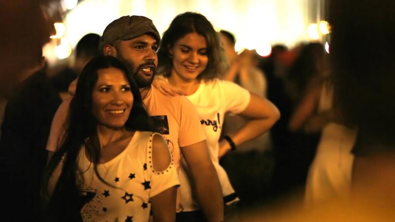 Salsa con dos chicas | Пушкинская набережная 15.09.2018