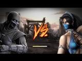 Mortal Kombat Noob Saibot vs Kitana