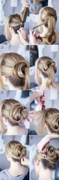 Прически на длинные волосы (10 фото) - картинка