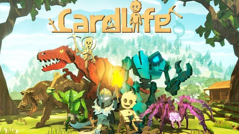 Возвращение в Мир Картонных Динозавров Card Life
