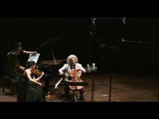 Shostakovich : Trio No. 1 Op. 8 : L. Maisky (piano), A. Margulis (violin), M. Maisky (cello).
