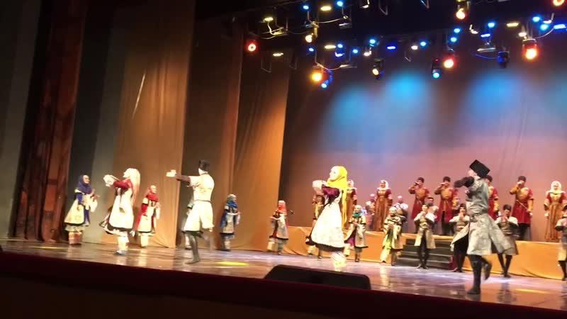 Ансамбль Дагестан. Вокально-хореографическая композиция Акушинка. Даргинский танец.