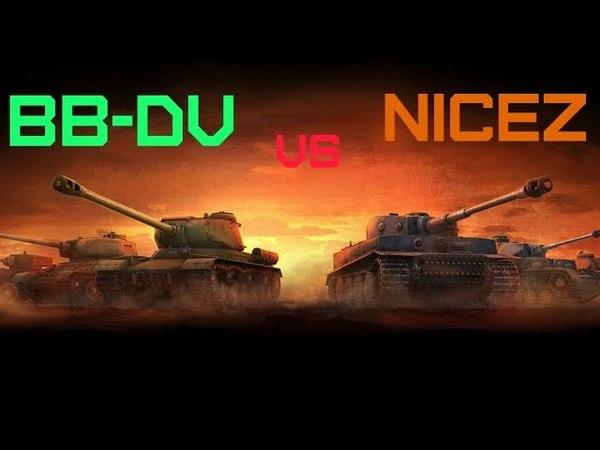 [BB-DV] vs [NICEZ] вылазки 10х10 (АБС)