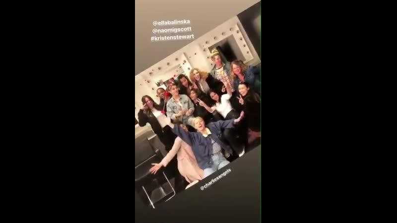Кристен на фотосессии к фильму Ангелы Чарли в Лос Анджелесе 10 03 2019