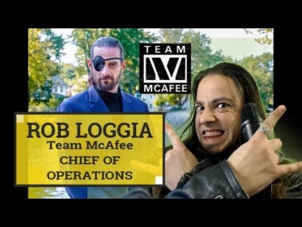 ROB LOGGIA TEAM MCAFEE COO, BIRDCHAIN, FABRIC TOKEN, BITCOIN