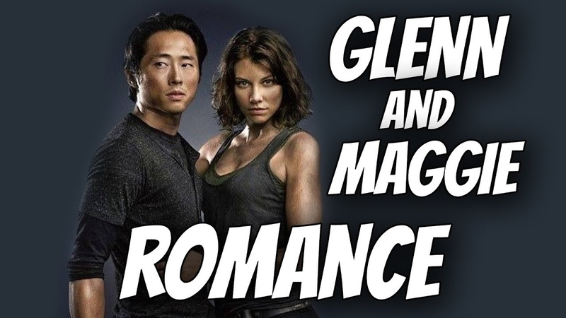 Walking Dead - THE GLENN AND MAGGIE ROMANCE