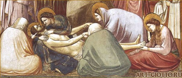an analysis of the lamentation by giotto