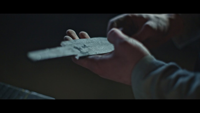 The Birth Of A Weapon Part II Damascus Bowie Knife Making by Northmen Guild