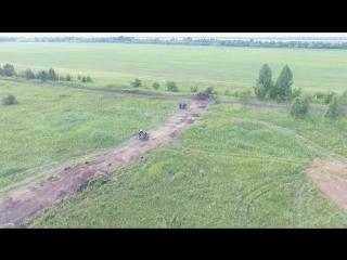 От Винта 2018. 2й заезд колясычей. Аэросъемка. Черновое видео.