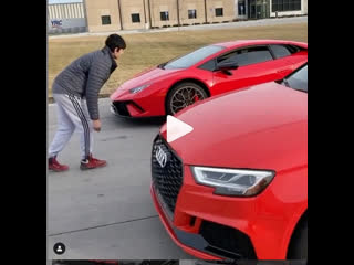 Tuned rs3 vs huracan