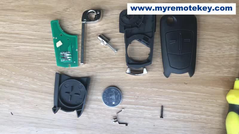 9119401 How to install the Opel Valeo key