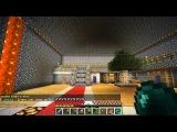 Minecraft 1.4.7 Сетевая игра сервер SparkCraft часть 11 Кто поставил стенку?