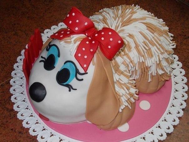 Как сделать красивый торт фото
