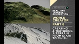 World Creator Introduction - PART 8 - Creating &amp Texturing A Terrain From Start To Finish