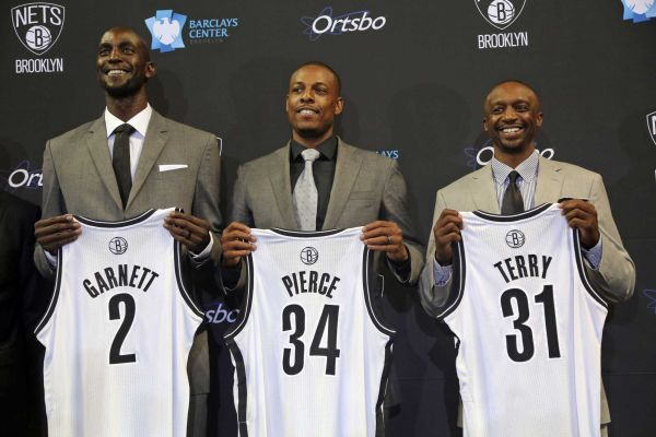 Новая супер-тройка Бруклина НБА