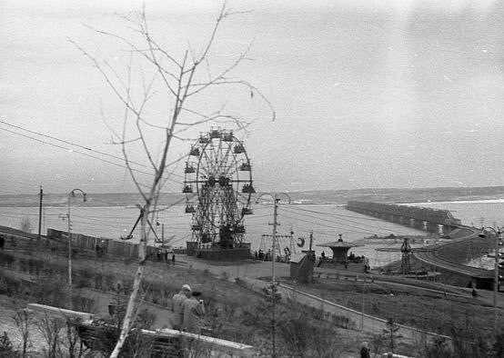 Где в Ульяновске стояло колесо обозрения?, фото-1