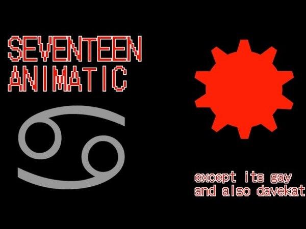 [ANIMATIC] SEVENTEEN but its davekat