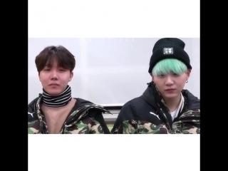 BTS | Реакция Хосока и Юнги на Тэхена и Чонгука