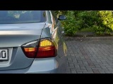 BMW E90 Led Light tinted Dectane rear lights BMW Rückleuchten Dectane getönt