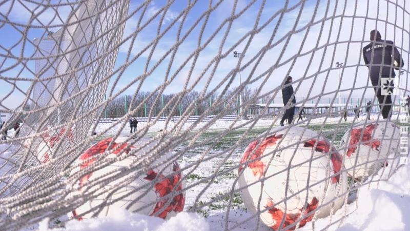 Витебские футболисты готовятся к чемпионату страны (16.01.2019)