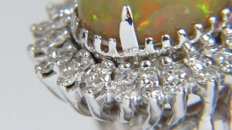 AvisDiamond: GIA Opal Ring