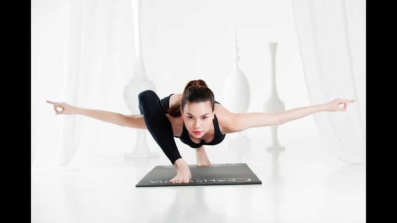 Hồ Ngọc Hà Hướng Dẫn Tập Yoga Tại Nhà Để Giảm Mỡ, Eo Thon, Thân Hình Gợi Cảm