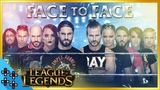 WWE vs. NXT LEAGUE OF LEGENDS - In-Ring FACE OFF!