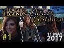 Chrissy Costanza Livestream 11 05 2017 League of Legends 1