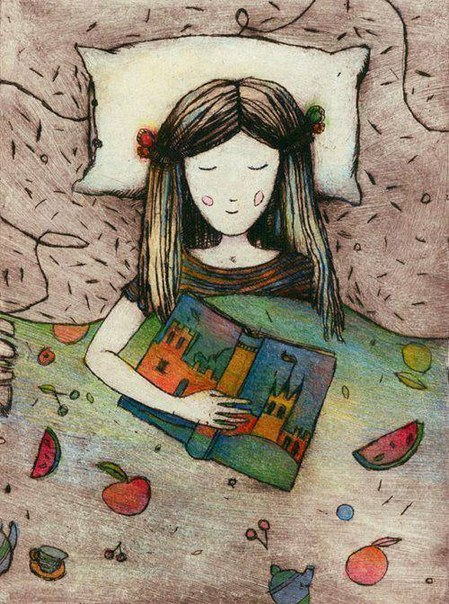 Либрокубикуларист (librocubicularist) - человек, который читает в постели.