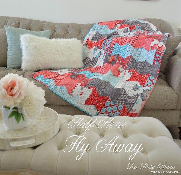 Красивое детское одеяло. Мастер-класс (9 фото)