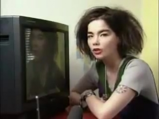 Björk talking about her TV is pure ASMR