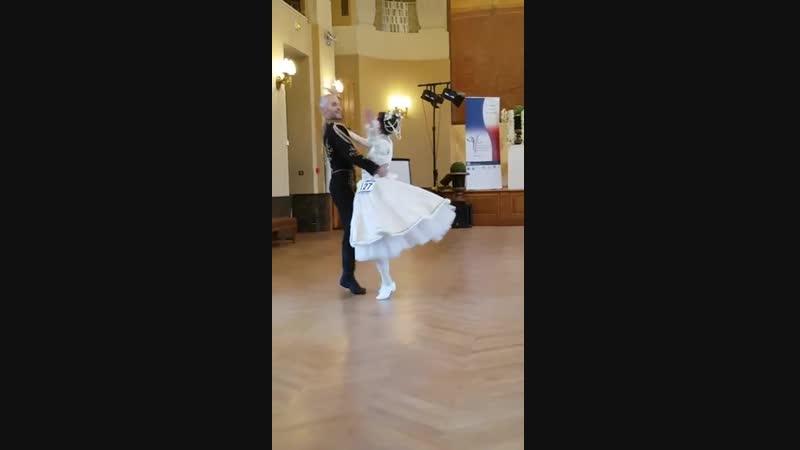 Мазурка Оливия и Гийом Чемпионат Франции, хореограф Арно Дёжиоанни