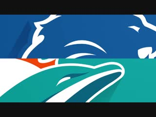 Lions vs. Dolphins Week 7 Highlights