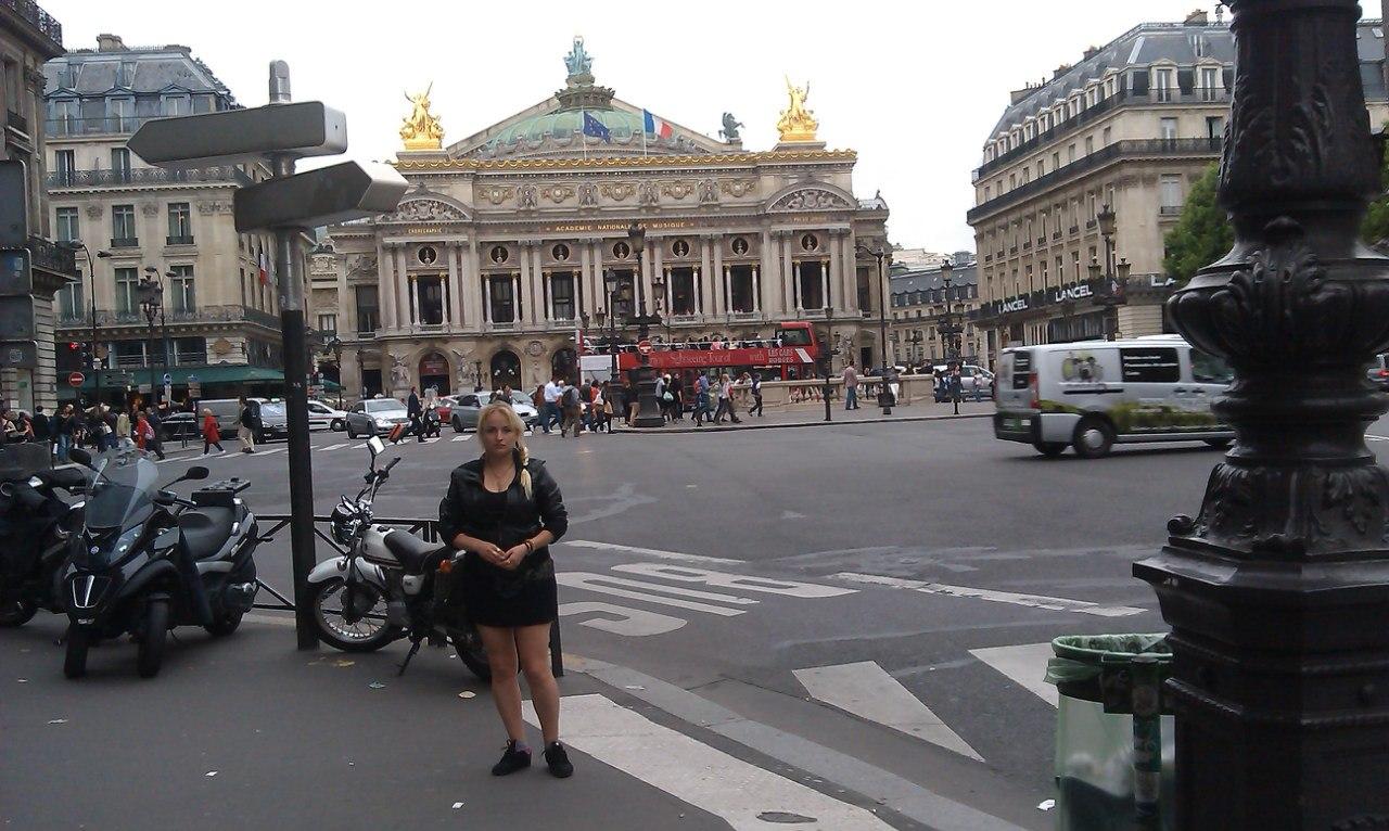 Елена Руденко. Франция. Париж. 2013 г. июнь. AnMoysXlRSE