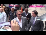 Kevin Costner Signs Autographs For Fans Outside Good Morning America In New York 6.19.18