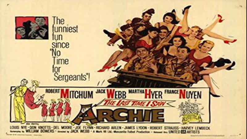 Cine clásico La última vez que vi a Archie 1961 Español