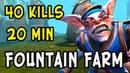 FF MEANS FOUNTAIN FARM FOR HIM! WISPER MEEPO 40 KILLS FOR 20 MINS DOTA 2