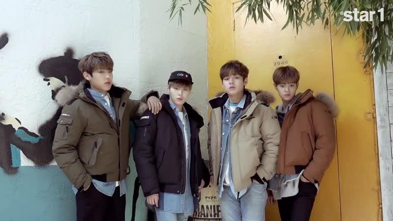 앳스타일 (@star1) 2017년 11월호 Wanna One 화보 촬영현장-2